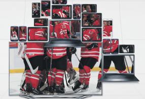 Samsung Hockey Canada Ad
